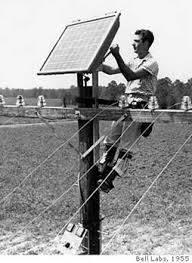 premier panneau solaire r f renc install sur terre 1954 laboratoire bell toujours en. Black Bedroom Furniture Sets. Home Design Ideas